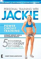 Personal Training With Jackie - Power Circuit Training (DVD, 2010)