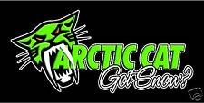 Arctic Cat Decal for your Truck, Trailer, Wall #2 High Quality!!