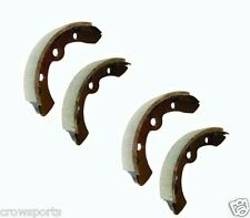 4 EZGO GOLF CART BRAKE SHOES 1987-1996  MARATHON, MEDALIST, TXT GAS  ELECTRIC