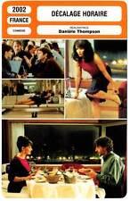 DECALAGE HORAIRE - Binoche,Reno,Lopez,Thompson (Fiche Cinéma) 2002 - Jetlag