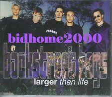 Backstreet Boys - Larger Than Life CD Single (3 Track) 1999