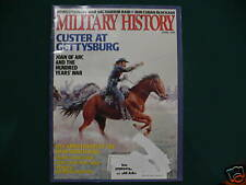 MILTARY HISTORY  GUSTER  AT GETTYSBURG  APRIL 1998 ISSU