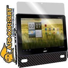 ArmorSuit MilitaryShield Acer Iconia A200 Screen Protector + Black Carbon Fiber!