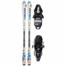 NEW 149 cm Head Rev rockered womens skis +mounted bindings fit mondo 24-26 boots