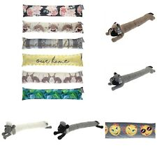 Smiley faces Hare Hedgehog Country Club Draught Excluder Home Flowers Leaf