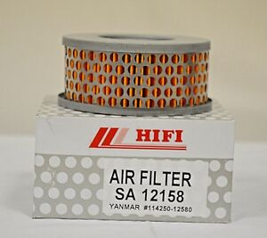 Air Filter SA12158 for YANMAR # 114250-12580, AF 25607, PA 4824