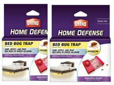 2 PACKS OF 2 -4 TOTAL Ortho Home Defense Bed Bug Trap