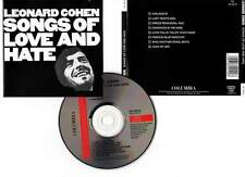 "LEONARD COHEN ""Songs Of Love And Hate"" (CD) 1971"
