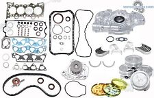 "96-00 HONDA Civic Del Sol 1.6L D16Y7 SOHC Engine Rebuild Master Kit ""Metal"""