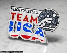 Olympic Pins Badge 2016 Rio De Janeiro Brazil Usa Usoc Icon Sport Bch Volleyball