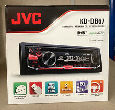 JVC DAB Digital Radio Car Van CD MP3 USB Stereo iPod iPhone Direct + Aerial EX