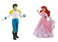 Disney Arielle im rosa Kleid und Prinz Eric Figur - 2 Bullyland Sammelfiguren