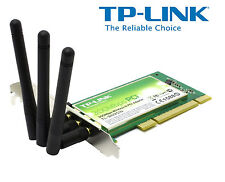 TP-Link TL-WN951N N PCI Wireless Adapter CARD 300Mbps 2.4GHz WLAN Netzwerkkarte
