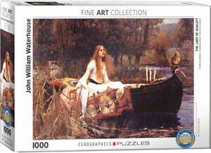 The Lady of Shalott John William Waterhouse 1000 piece jigsaw 680mm x 480mm (pz)
