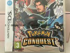 Brand New Sealed Pokemon Conquest Nintendo DS PAL RARE!