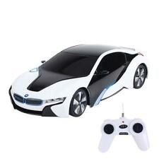 1:24 RC BMW i8 Exotic RC Sports Car White Model Car R/C Detailed Easy To Use Fun