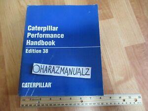Caterpillar Performance Handbook Manual Edition 38