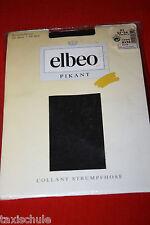 Luxus Elbeo Nylons Strumpfhose Gr. 54 Schwarz 20 Den Retro Vintage Strümpfe