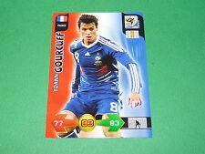 GOURCUFF FRANCE PANINI FOOTBALL FIFA WORLD CUP 2010 CARD ADRENALYN XL