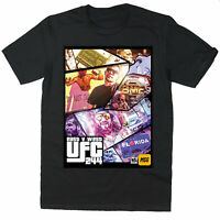 BMF East Vs West T-shirt Jorge Masvidal Vs Nate Diaz T-Shirt BMF Rock T-shirt