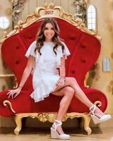 New PASDUCHAS Whimsy White Cotton Lace Lover Ruffle Mini Dress AU6 $329