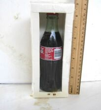HOT AUGUST NIGHTS RENO SPARKS 2002 COCA COLA BOTTLE NEW IN BOX SEALED, SO RARE