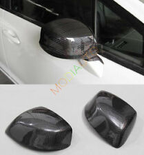 For Honda Civic 9th 2012-2015 Carbon Fiber Rear View Mirror Decorative Cover 2X