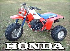Honda ATC 350X 3-wheeler 18 x 24 poster    ATC350 ATC350X 350x
