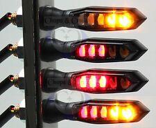 Blinker, Brems- & Rücklicht - Motorrad - LED - Sonic-X1 - schwarz