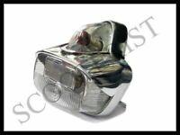 Vespa Acorn Clear Rear Back Tail Light Lamp Vbb Vba Super Sprint GS GL SS 150