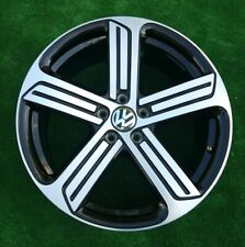 GENUINE VW Golf 7 R Cadiz Black Rim inch 19 x8 et 50 Alloy Wheel x1 5G0601025AH