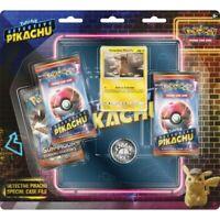 Pokemon TCG Detective Pikachu Special Case File Box 3 Packs + Binder
