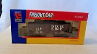 HO Scale Life-Like 30' 2 Bay Coal Car, Louisville & Nashville, Brown #20459 BNOS