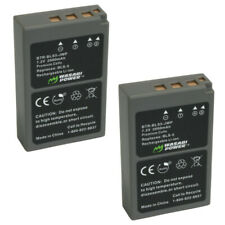 Wasabi Power Battery for Olympus BLS-5, BLS-50, PS-BLS5 (2-Pack)