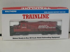 "Walthers HO Scale Locomotive ""SOO LINE #2403"" New in Box"