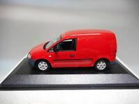VOLKSWAGEN CADDY 2005 RED MINICHAMPS VW DEALER 1:43