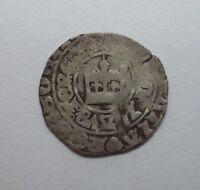 RARE  COIN Bohemian Silver Prague Groschen John Of Luxemburg 1310-1396  #469