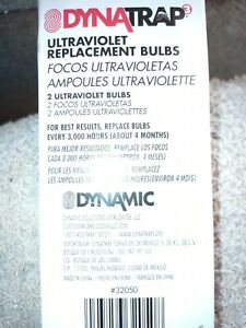 DynaTrap 32050 Insect Trap 6 W Replacement Bulbs - 2 Count