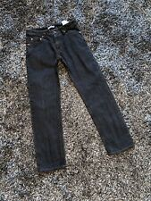 IMMACULATE - STONE ISLAND JUNIOR GREY JEANS - AGE 12 YEARS