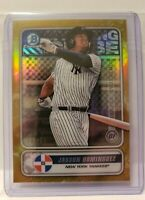 2020 Bowman Jasson Dominguez Gold Refractor # 27/50 Yankees 🔥🔥 Only 1 on Ebay
