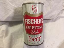 FISCHER'S OLD GERMAN STYLE BEER STEEL CAN    FLORIDA STAMP  68-25