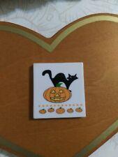 Danbury Mint Perpetual Calendar Holiday Tile for Halloween