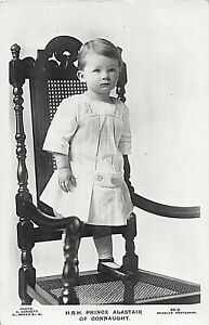 POSTCARD ROYALTY / NOBILITY  PRINCE ALASTAIR OF CONNAUGHT
