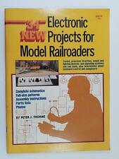 34 New Electronic Projects for Model Railroaders Peter Thorne 1982