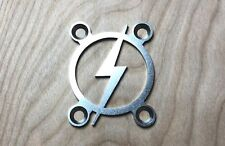 BOLT Neck Plate for your Guitar or Bass - Stainless Steel