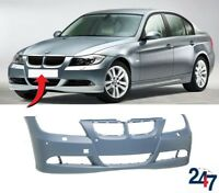 NEW BMW 3 SERIES E90 E91 2005-2008 FRONT BUMPER WITH LIGHT WASHER AND PDC HOLES