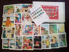 Brand new unused Q Talk Story Cards set 2009 20 stories w/ Teacher Manual