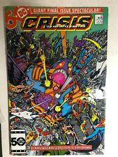 CRISIS ON INFINITE EARTHS #12 (1986) DC Comics TV tie-in FINE+