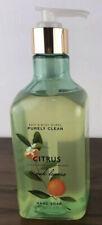 Bath & Body Works Purely Clean CITRUS & OAK LEAVES Hand Soap 10 oz NEW