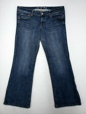 American Eagle Favorite Boyfriend Womens Relaxed Bootcut Jeans Size 14 Stretch